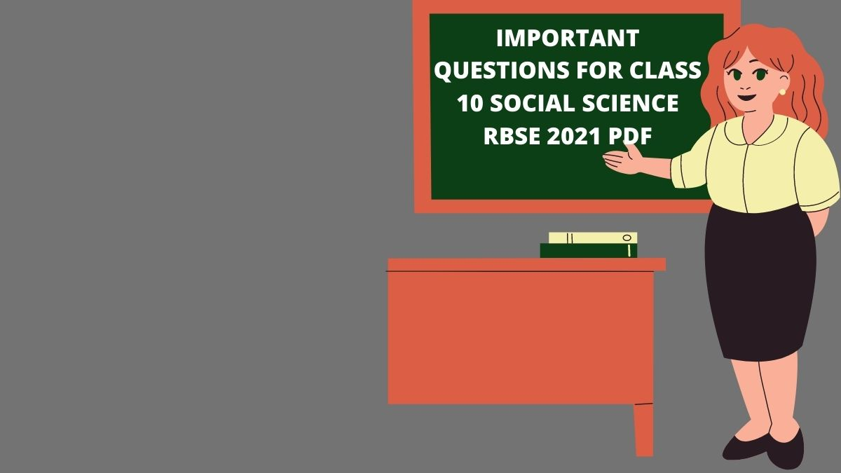 important questions for class 10 social science rbse 2021 pdf file